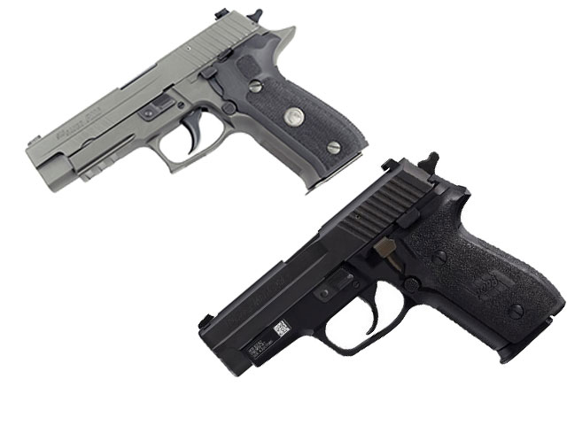 The FBI also uses the Sig P226 and P228