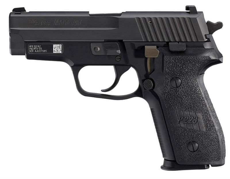 sig guns for police
