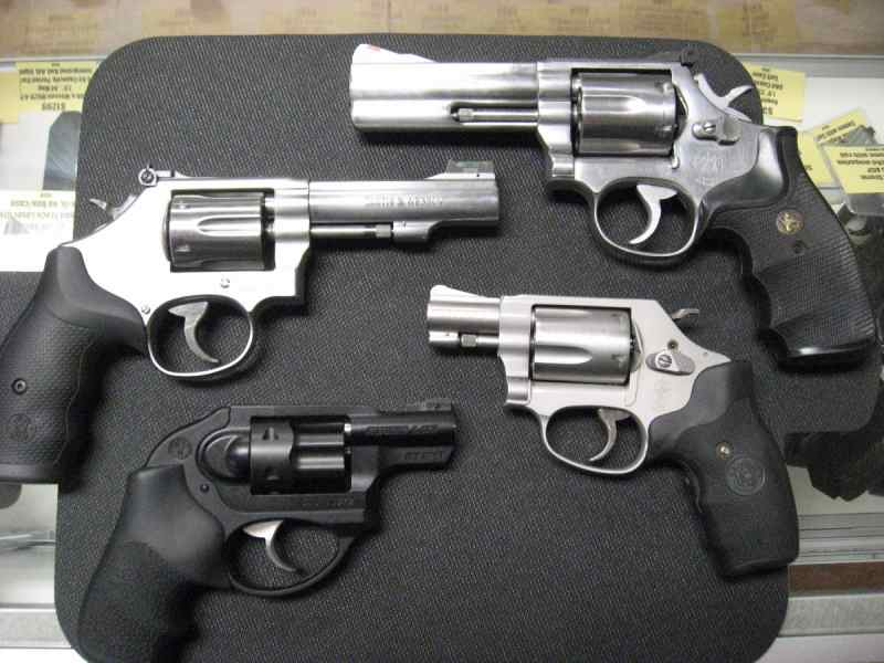 some revolvers to get you started in the world of the wheelgun