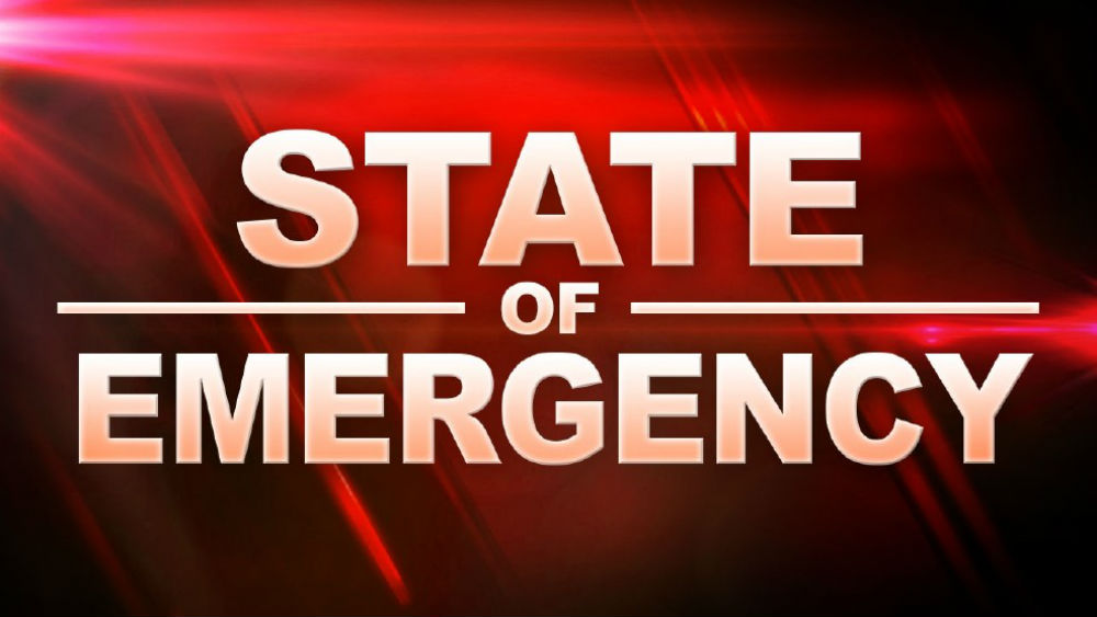 Declared State of Emergency