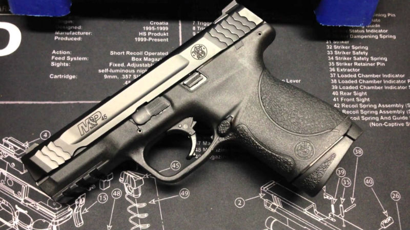 smith and wesson 45