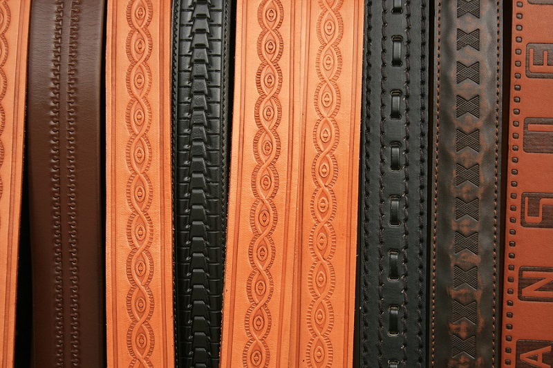 Basket Weave Pattern On Leather : How a basketweave leather belt is different from regular
