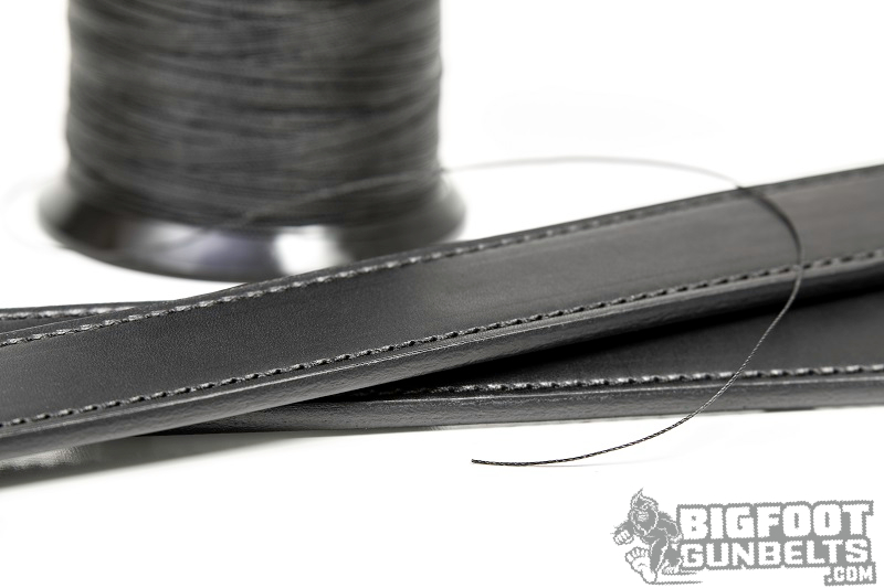 leather gun belt materials