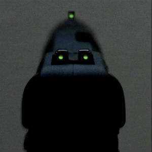 how to change handgun sights
