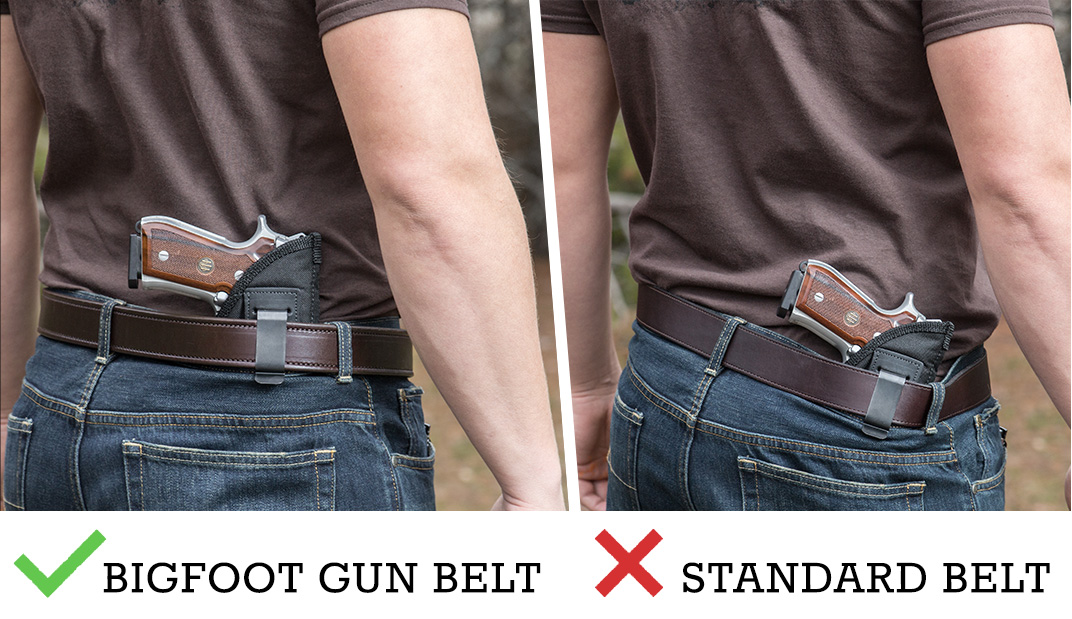 38999ff1f27 Best Leather Gun Belts for Open and Concealed Carry